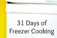 freezer cooking / by Wendy Ramsey-Powell