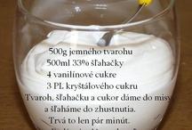 jogurty,krém,poleva
