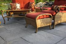 Rivenstone by Nantucket Pavers / The next best thing to nature.  Create a beautiful and long lasting outdoor living space with the options Rivenstone has at affordable prices.