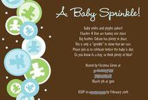 Baby Showers/Sprinkles