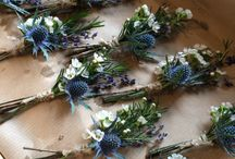 Wedding flower power!