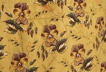 1840 tekstylia, wzory