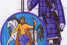 My artwork of Roman milites 3.-4.century AD