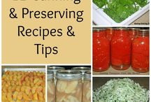 canning & preserving / by Nicole Bostrom