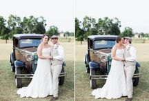 Bethany's Vintage / Rustic Wedding / Photos from Bethany's July 5, 2014 wedding for those looking for vintage/rustic ideas.