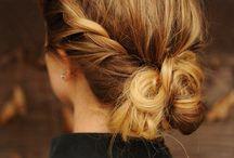 ...hair...