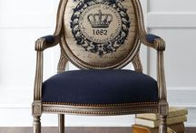 dining room French inspired chairs