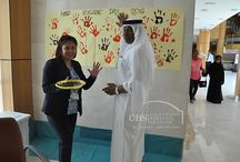"World Hand Hygiene Day celebrated at UHS (2016) / University Hospital Sharjah celebrated ""Hand Hygiene Day"" in a bid to create awareness on the importance of hand hygiene for enhancing patient and health care personnel's safety.   This year's theme 'SAVE LIVES: Clean Your Hands - campaign aims to progress the goal of maintaining a global profile on the importance of hand hygiene in health care and to 'bring people together' in support of hand hygiene improvement globally."