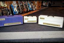 Amplificadores / Cabezales, pantallas, combos...