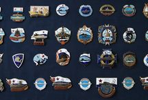 Russian Sub Badges Patches Pennants / My Soviet & Russian submarine Badges Patches Pennants collectibles