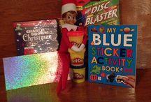 Baby Gray's Elf on the Shelf / The adventures of Teddy Elf!