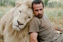 KEVIN WITH LION.