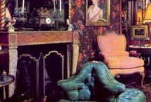 Neo-Victorian aesthetic / Picture research for Stitched Up, PhD creative work - sources of Neo-Victorian aesthetics in interior design and decor.