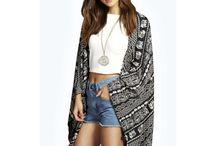 Chica / Moda chica, ropa chica, jerseis, camisas, chalecos, kimonos, pantalones, shorts, vestidos, etc.