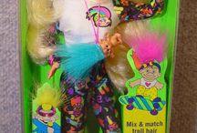Barbiedockor i samlingen 1987-1998 / Barbie