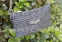 Smara's handmade creations (bags) / Crochet, knitting.