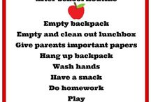 kids routine