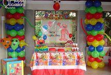 Fiesta Elmo Niño / Decoración Fiesta Elmo Niño www.happy-occasions.com https://www.facebook.com/HappyOccasions