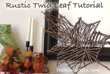 Fall / Crafts and projects to celebrate the autumn,