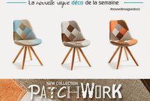Nouvelle vague I Meuble et Décoration trendy design / Chaque semaine découvrez une nouvelle vague de meubles et de décoration trendy design #deco #nouvellevaguedéco #new #nouveautés #meuble #textile #idée #découverte #original