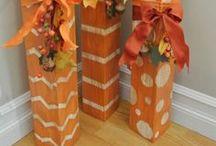diy őszi dekorációk