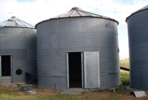 Grain bin conversions