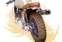 motor draws