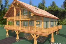 Schwenningen Germany Project / February 4, 2016  We recently completed the design for this Schwenningen Floor Plan in Germany. It is a log post and beam, western red cedar home created for Westcoast Log Homes in Gibsons BC.