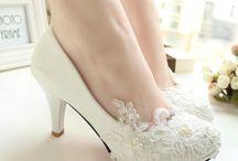 Sapatos da noiva / inspirações para o dia C