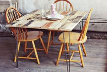 Pallets Furniture / Pallets projects that will inspire you.