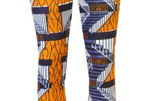 African prints pants