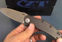 ZT Knives / Walk around and information on ZT products