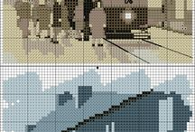 Cross Stitch ~ Places