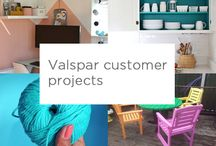 Customer Paint Projects / Valspar customer paint projects
