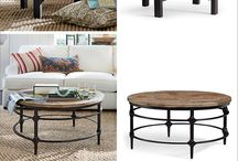 COFFEE & SIDE TABLES / All sorts of tables for living room - coffee, side, console, etc.