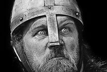 Le Viking / one of a seafaring Scandinavian people who raided the coasts of northern and western Europe from the eighth through the tenth century