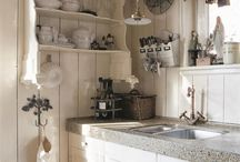 Intérieurs : cuisine