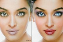 Photoshop is my Friend ♥ / Before and After Photo retouching, celebrities and more