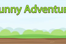 Funny Adventure / Help our characters to cross through different worlds. You'll find exciting challenges. Enjoy lots of funny moments.   Fly using propeller, move boxes, jump over moving platforms. Overcome barriers such as piranhas, snakes, cactus, gas cans, huge rocks, vultures, wasps, spiders, etc.  Catch fruits and destroy the enemies to score more points.  Destroy the leader to overcome a level game. Share your score with your friends on Google Play.