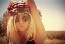 Hippie Girl / bohemian and hippie chic / by Jane Dotson