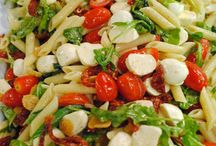 Salads, vegetable, pasta, and fruit / by Sonia Nichols Jones