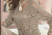 tunicas crochet