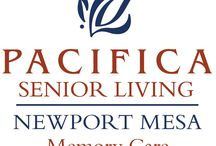 Pacifica Senior Living Newport Mesa / Welcome to Pacifica Senior Living Newport Mesa, our beautiful, safe, and friendly community of quality caregivers, well trained professionals, and most importantly, satisfied residents. Located in Orange County, Pacifica Senior Living Newport Mesa offers a full spectrum of memory care services administered by a specifically trained, caring, and experienced staff.