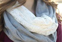 sciarpe in stoffa
