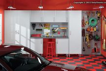 Garage spaces