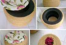 pneu artesanato