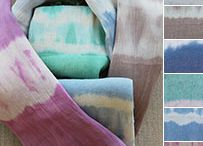 Lady Faith Scarves / 100% cotton and vegetable dyed. / by Lady Faith