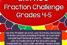 Math - Fractions / by Carissa Chacon