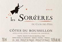 Étiquettes Vins du Roussillon
