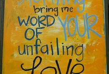 My Bible verses.